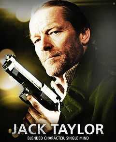 "An Irish television drama based on a series of novels by Ken Bruen. Set in Galway, the series stars Iain Glen in the eponymous role of Jack Taylor, a former officer with the Garda Síochána (national police) who becomes a ""finder"" (ie. a private investigator) after leaving the service."