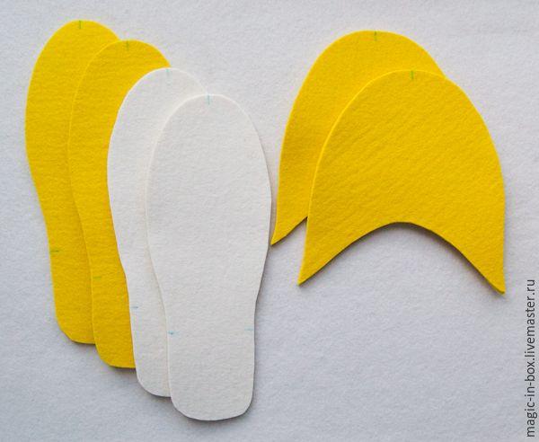 Как просто сшить фетровые тапочки для гостей - Ярмарка Мастеров - ручная работа, handmade