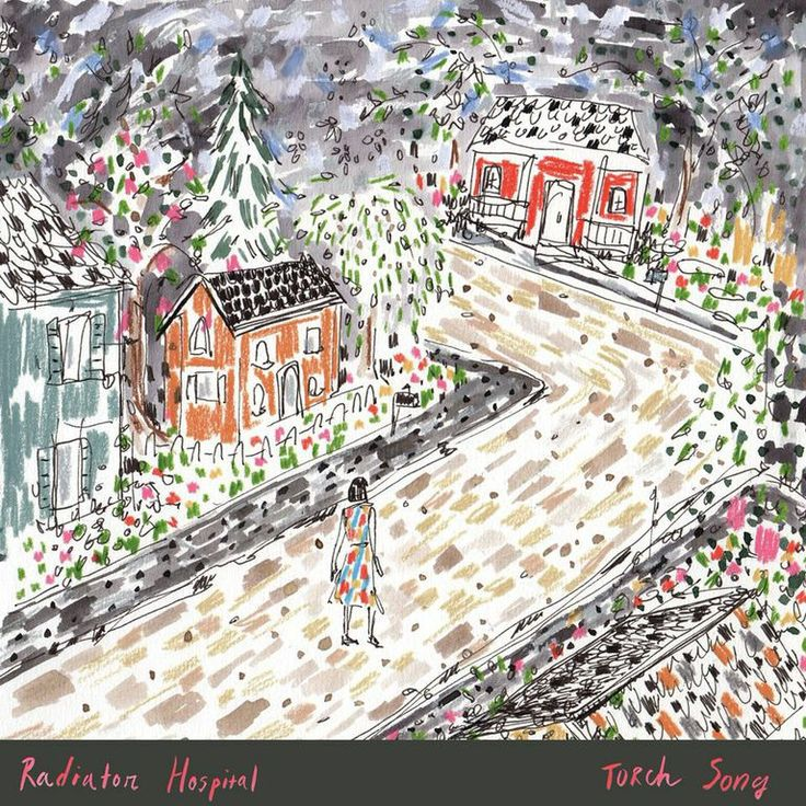 """Radiator Hospital put up their new EP, """"Torch Song,"""" on Bandcamp for stream and download."""