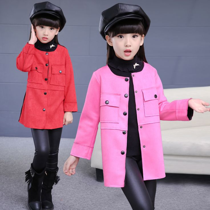 Cheap clothes fold, Buy Quality jacket kimono directly from China jackets for men leather Suppliers: Free Shipping 2016 New baby girl coat Spring&Autumn Girls clothes Faux suede trench coat  Faux Fur Jacket  Children Outerwear