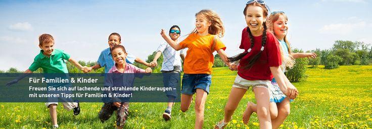 Für Familien & Kinder — Freizeit in Klickweite