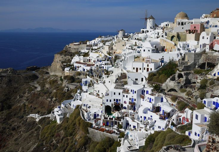 beautiful Greece. someday i'll go there.