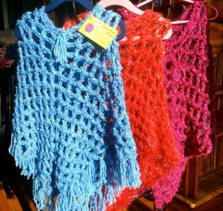 Children's Ponchos Size Small fits 3-6 year old. $25.00 each