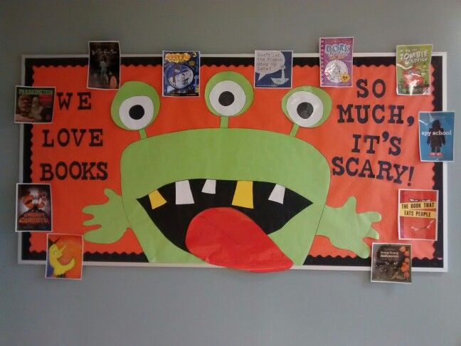 Monster bulletin board