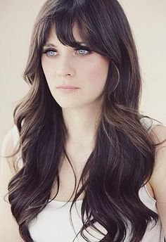 20 Hairstyles With Bangs To Inspire You For Fall 2015: Zooey Deschanel