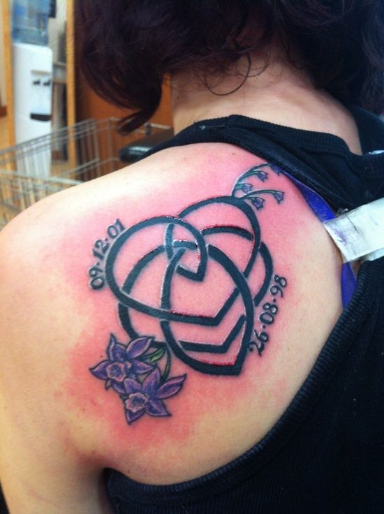 Celtic Motherhood Knot Tattoo   Pin Celtic Triskel ...