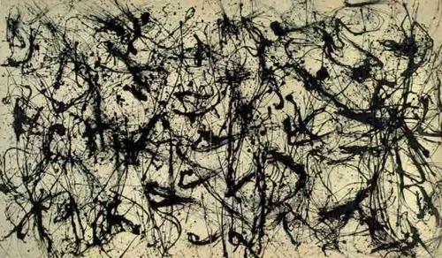 Jackson Pollock is timeless.