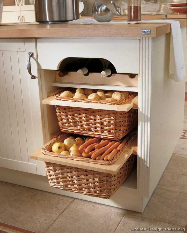 Kitchen Cabinet Baskets: 98 Best Wicker Basket Drawers 101 Images On Pinterest