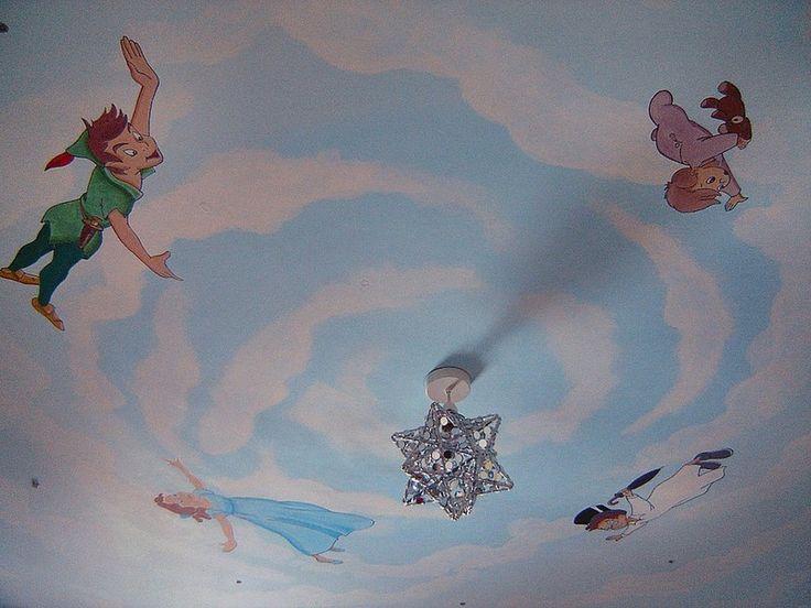 Peter Pan Ceiling mural