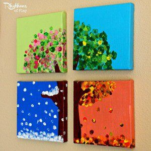 10 Darling and Simple Fingerprint Crafts Your little ones will Love