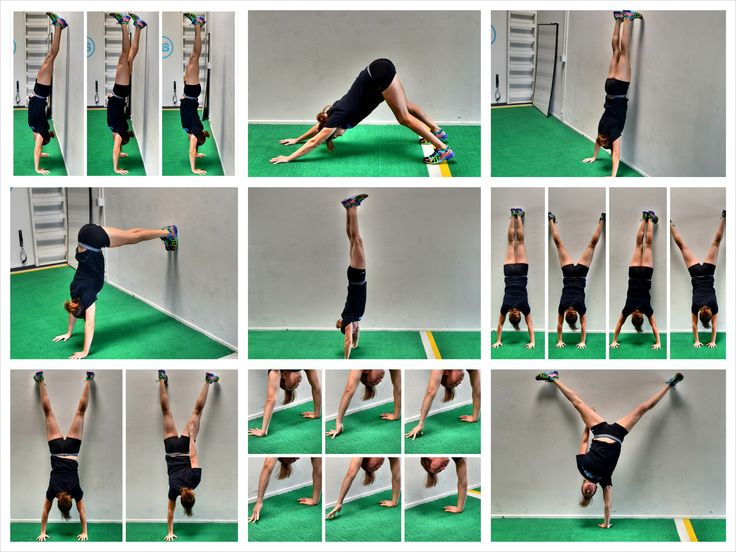 how to do a handstand. handstand progressions for everyone