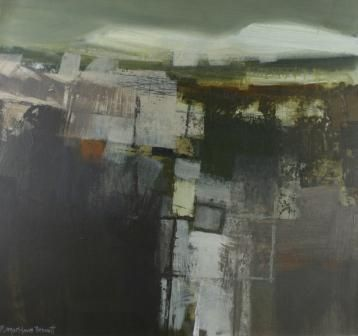 Fallow Fields, Largo  Type: Acrylic  Size: 23 x 25 inches