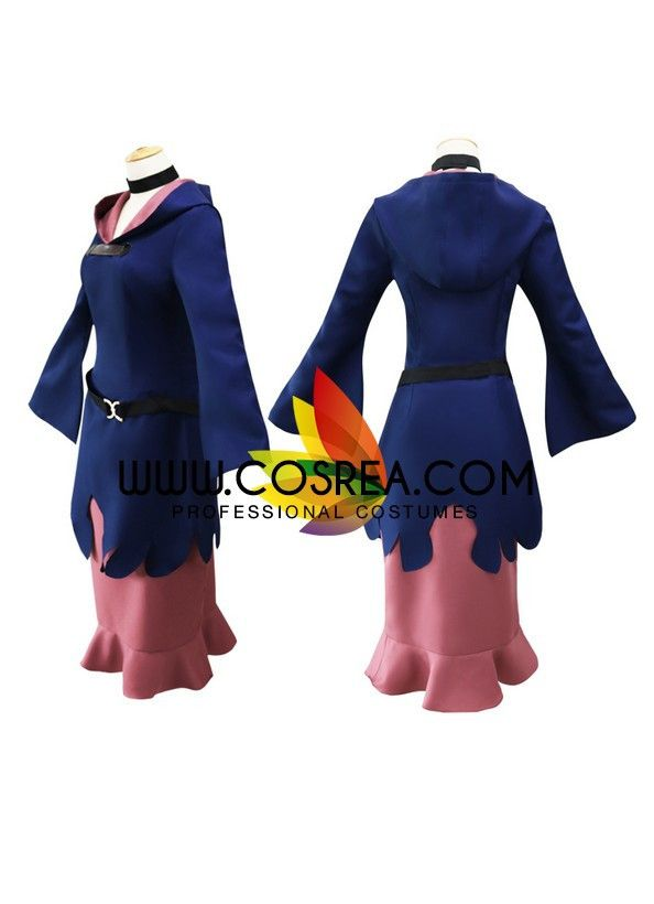 Little Witch Academia Ursula Callistis Cosplay Costume