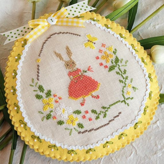 Stitched Spring Bunny