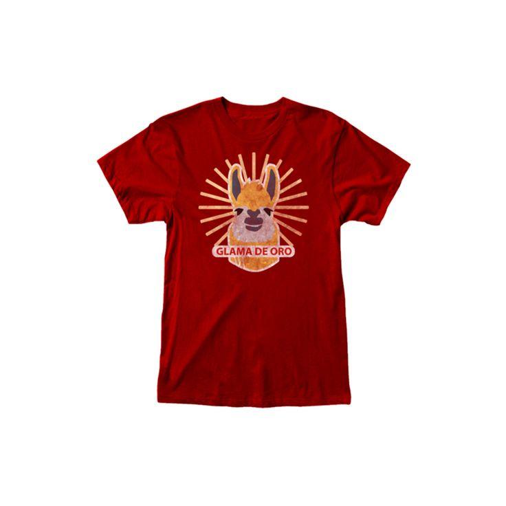 Men's Tom Clancy's Ghost Recon Wildlands Glama De Oro Red T-Shirt, Size: Large, Black