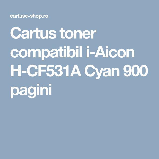 Cartus toner compatibil i-Aicon H-CF531A Cyan 900 pagini