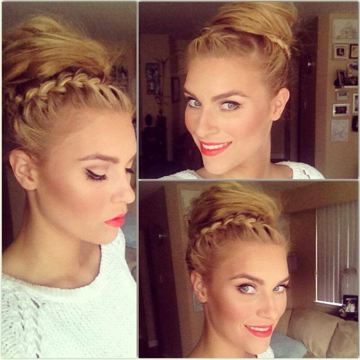 Surprising 1000 Images About Hair I Love On Pinterest Dreads Girl Updo Hairstyle Inspiration Daily Dogsangcom