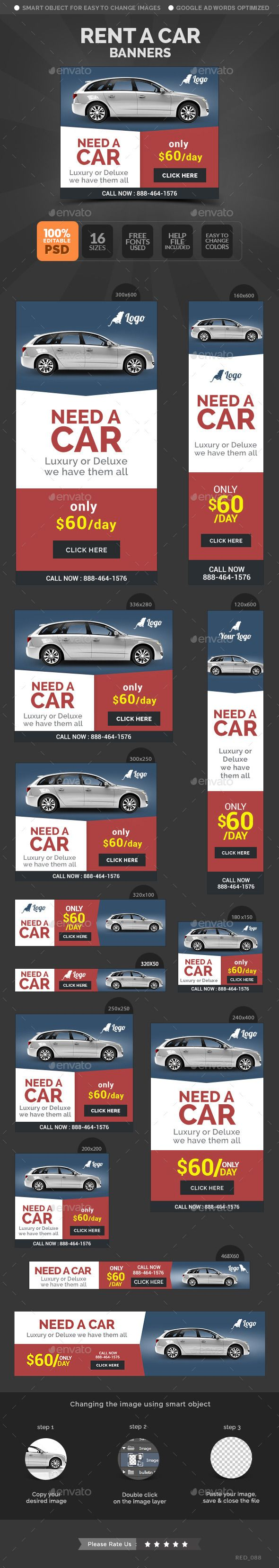 1000 images about Motoring Banners – Car Ad Template