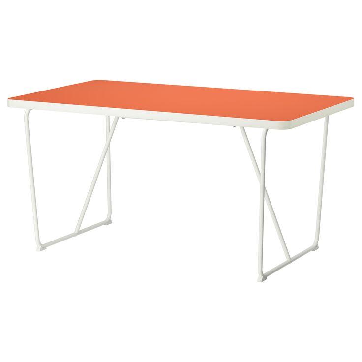 RYDEBÄCK, Tisch, Orange Weiß, Weiß Jetzt Bestellen Unter: Https://