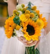 Hint of Fall Bridal Bouquet