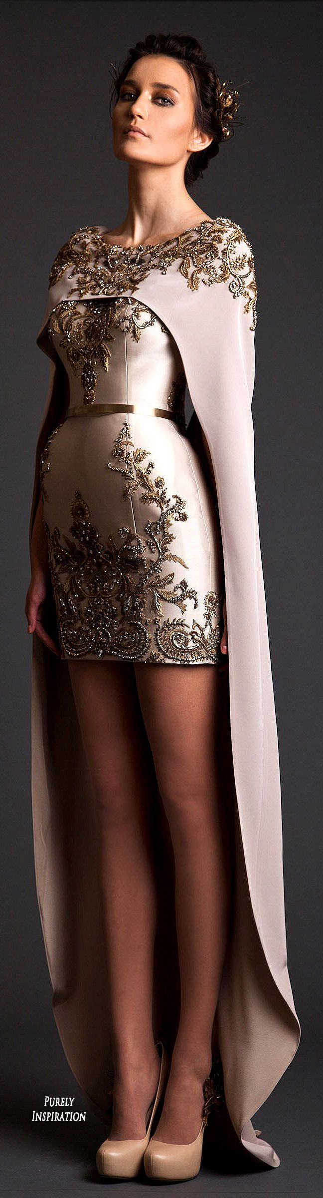 Krikor Jabotian SS2014 Haute Couture Women's Fashion | Purely Inspiration