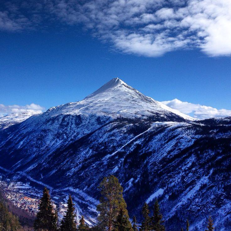 The beautiful and striking Gaustatoppen - Rjukan, Norway
