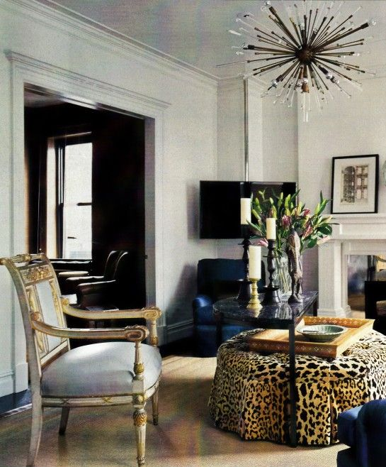 Accent Leopard Chairs For Living Room Part 50