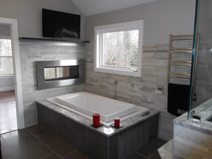 Design Build Pros Using Island Stone Parallels For An