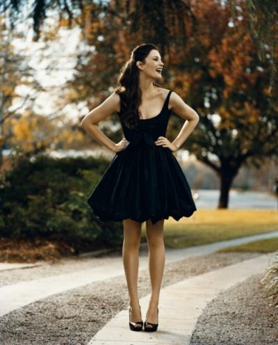 Liv Tyler - Vestido com um ar romântico e sexy ao mesmo tempo.
