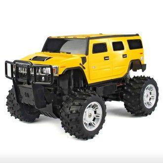 Hummer H2 SUT - Yellow For more Rastar toys, visit http://www.yellowgiraffe.in/ #Rastar #cars #toys #Hummer