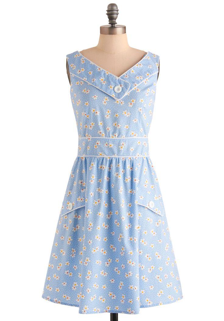 Best Daisy Ever Dress | Mod Retro Vintage Dresses | ModCloth.com