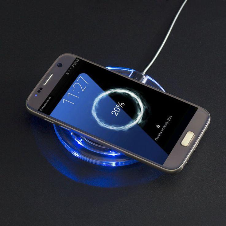 Universal Qi Wireless Cargador de Muelle de Carga Del Adaptador de Teléfono Móvil Pad Wirless célula de carga para samsung galaxy s7 s6 edge note 4 5
