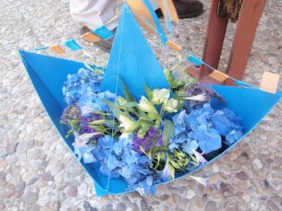 nautical baby shower decoration