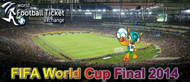 #Brazil2014 is here for #Soccer lovers worldwide. Take your #Football #WorldCup Final Tickets from World Football Ticket Exchange soon. Visit http://www.worldfootballticketexchange.com/brazil-world-cup-2014-tickets/world-cup-final-tickets/