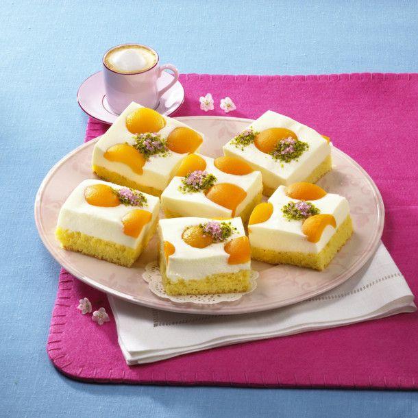 Unser beliebtes Rezept für Aprikosen-Joghurt-Blechkuchen und mehr als 55.000 weitere kostenlose Rezepte auf LECKER.de.
