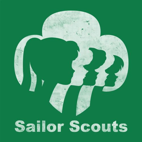Sailor Moon Girl Scouts T-Shirt