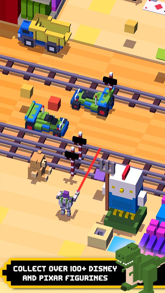 Disney Crossy Road by Disney is now available on the App Store. Download http://ift.tt/1ShJh2M