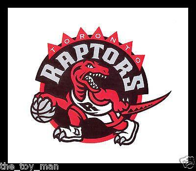 Toronto raptors basketball nba licensed team logo indoor sticker decal