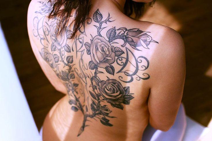 татуировки на спине женские - Поиск в Google