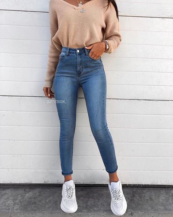 14 Simple & Trendy Outfits for Spring and Summer 2019 #Spring #summer #outfits #… – Emma Meurer