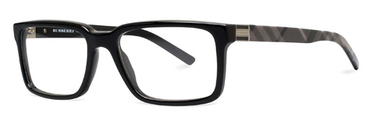These fashionable Burberry BE2090 black frames will be on every fashionable dad's wish list for Father's Day!