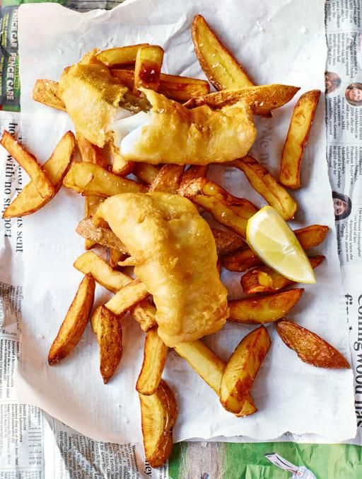 Good fish and chips are becoming harder to find these days, so I've shown you how to make the real deal