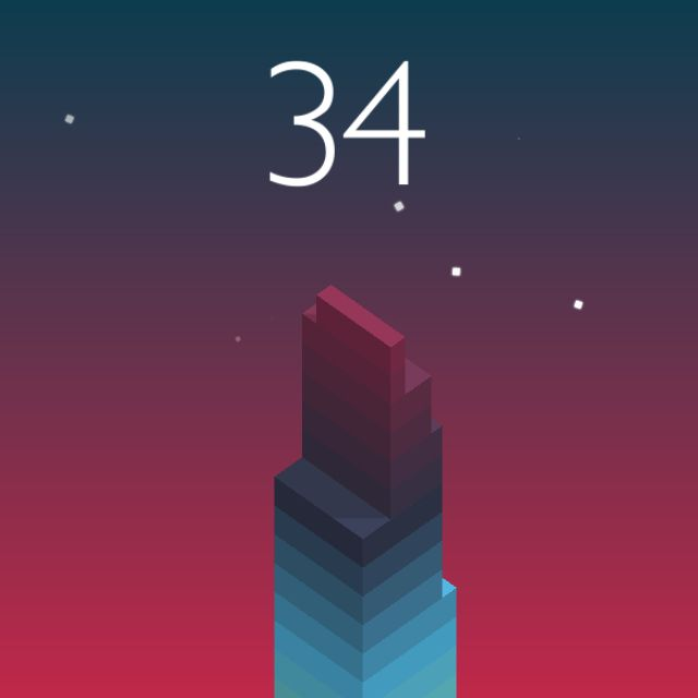 I scored 34 points in #Stack https://itunes.apple.com/app/stack/id1080487957