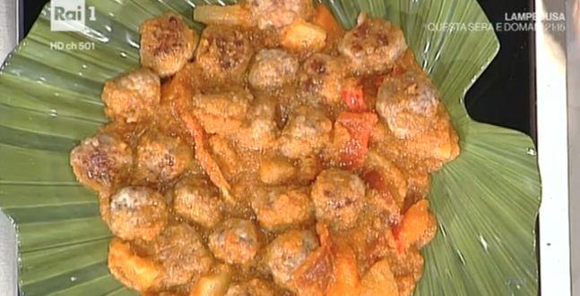 La ricetta di oggi di Anna Moroni delle polpette di pollo in agrodolce