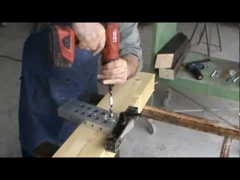 Dima per sistema di connessione travi in legno 4 legno for Dima per cerniere anuba fai da te