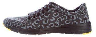 Gucci Reflex Leopard-Print Sneakers w/ Tags