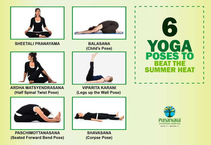 During summer our body tends to heat up aggravating the 'pitta' dosha, and one of the best ways to keep it in control & encourage equilibrium is through regular yoga practice.  Here are few cooling yoga poses that one should include in their daily routine to beat the Summer Heat -  1. Sheetali Pranayama This yoga asana releases excess body heat and furnishes a cooling effect to the body through deep breathing. The pose also alleviates ulcers, constipation, acidity, hypertension and…