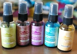 Craft Product Review: Adirondack Color Wash by Tim Holtz for Ranger Ink | Craft Test Dummies
