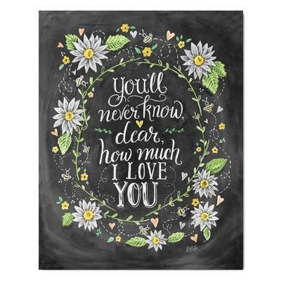 You'll Never Know Dear - Print #Children #new #Nursery