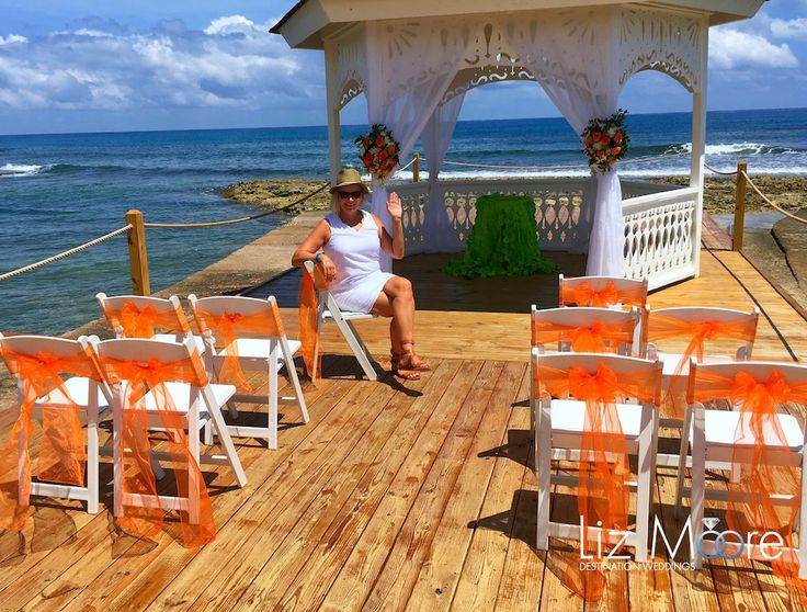 Jamaica Wedding Gazebos #jamaica #weddinggazebos #weddingideas #weddingceremony #melia
